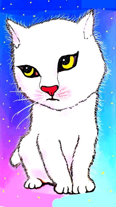고양이    qweensara   Digital Drawing   PENUP