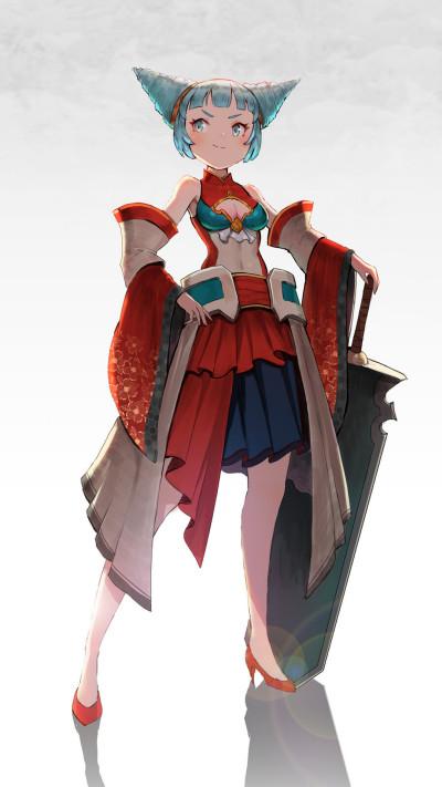 sword girl | dongdongkim | Digital Drawing | PENUP