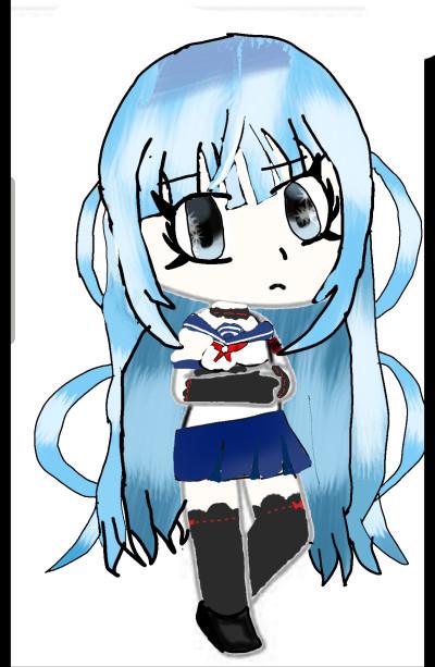 megami saiko from yandere simulator | sweet_dragon | Digital Drawing | PENUP