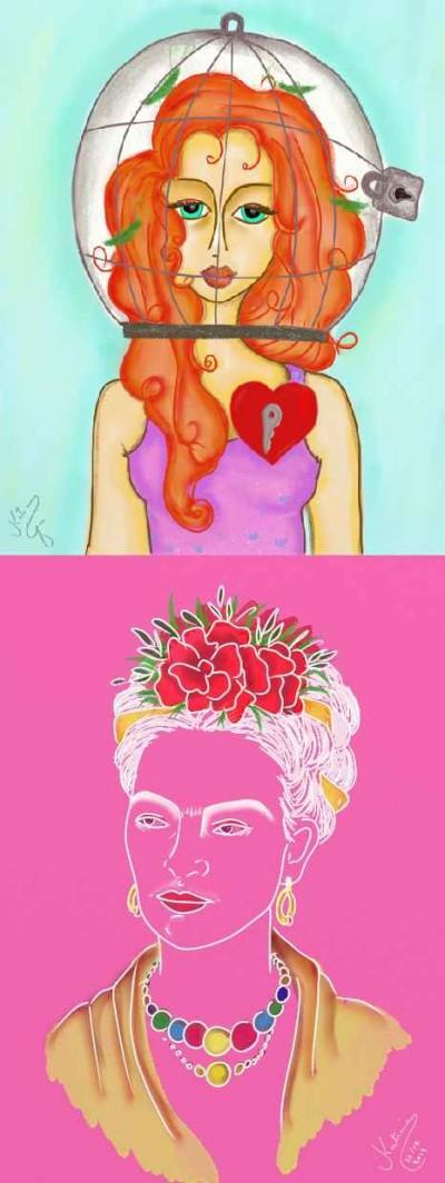 Meus desenhos | Katicia | Digital Drawing | PENUP