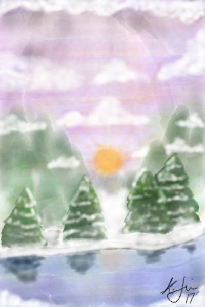 Christmas Dew. | anishonua | Digital Drawing | PENUP