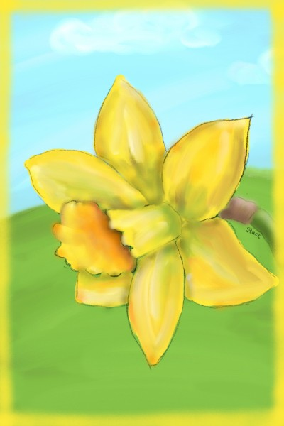 St David's Day, Wales | Stace | Digital Drawing | PENUP