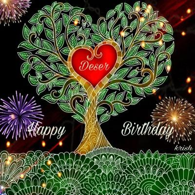 Happy Birthday to my lovely friend Deser ♡   krish   Digital Drawing   PENUP