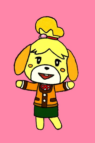 Animal Crossing - Isabel    Zenovia   Digital Drawing   PENUP