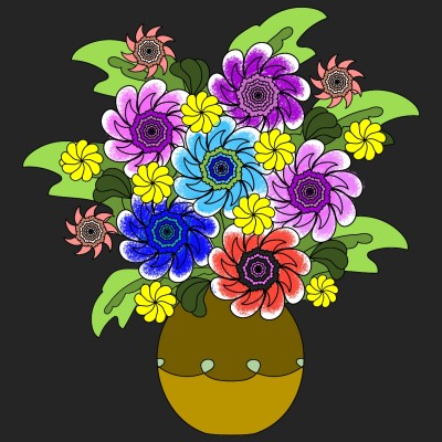 Flower pot | Chris | Digital Drawing | PENUP