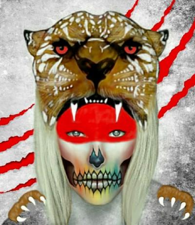 jaguar warrior | Gina | Digital Drawing | PENUP