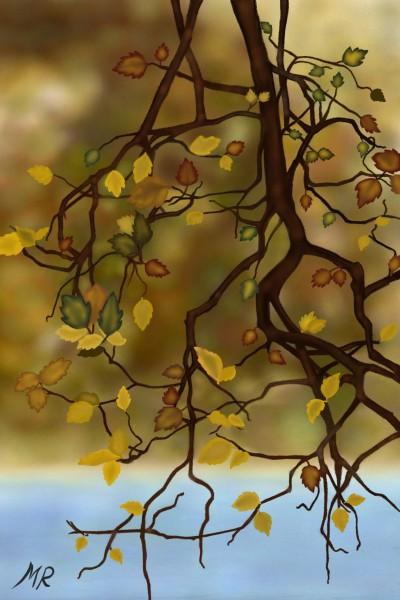 Latest Winter Leaves | marmencicamarin | Digital Drawing | PENUP
