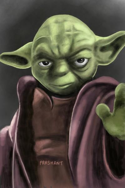 Yoda!! | Prashant | Digital Drawing | PENUP