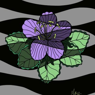 Coloring Digital Drawing | Meesa | PENUP