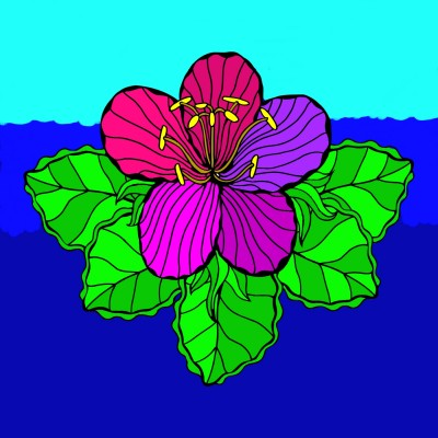 the lily pad | LunarEclips | Digital Drawing | PENUP