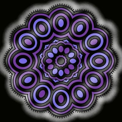 408 Purple  | DaQueen | Digital Drawing | PENUP