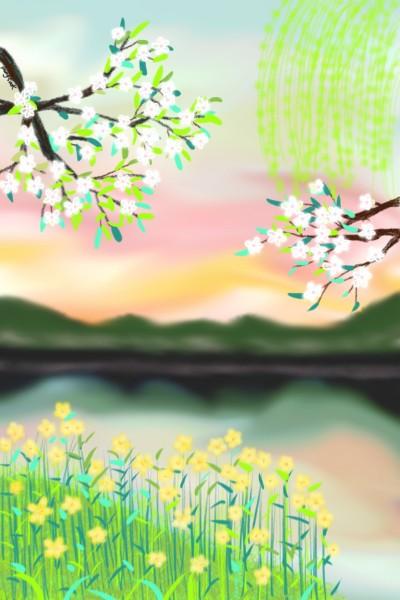 61.봄봄봄 | youngsook | Digital Drawing | PENUP