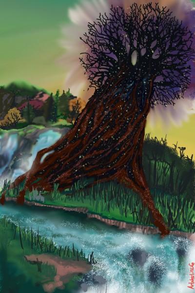 Pishon River... | ArtNstillLife | Digital Drawing | PENUP