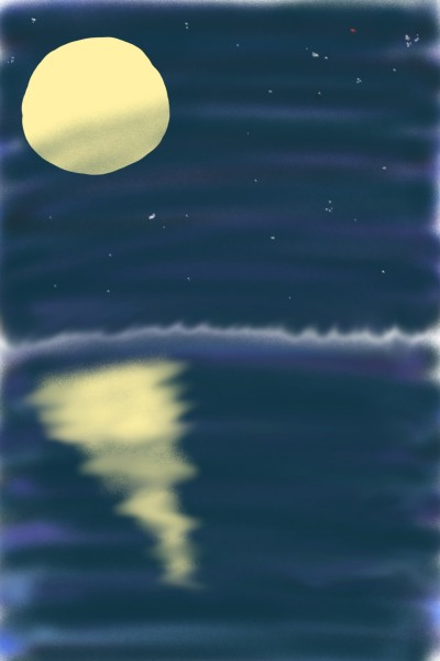 Beautiful night | Chim | Digital Drawing | PENUP