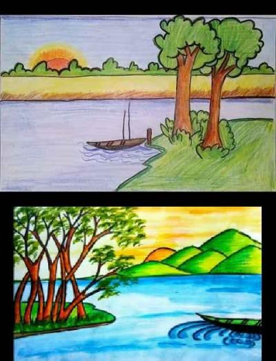river | prabhatyadav | Digital Drawing | PENUP