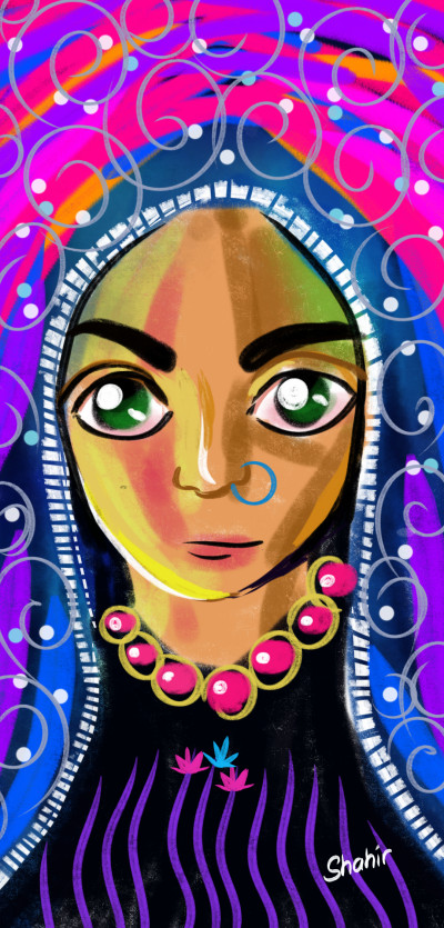 lady | shahir | Digital Drawing | PENUP