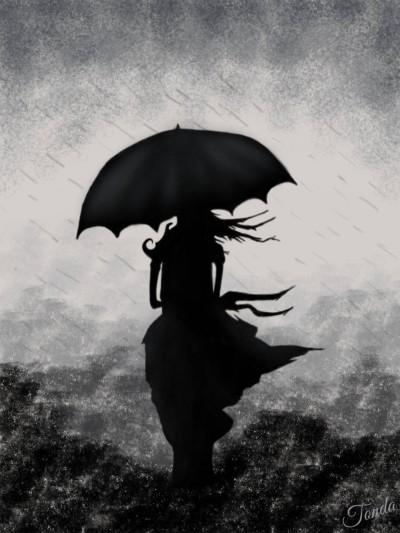 Rainy Day    Tonda   Digital Drawing   PENUP
