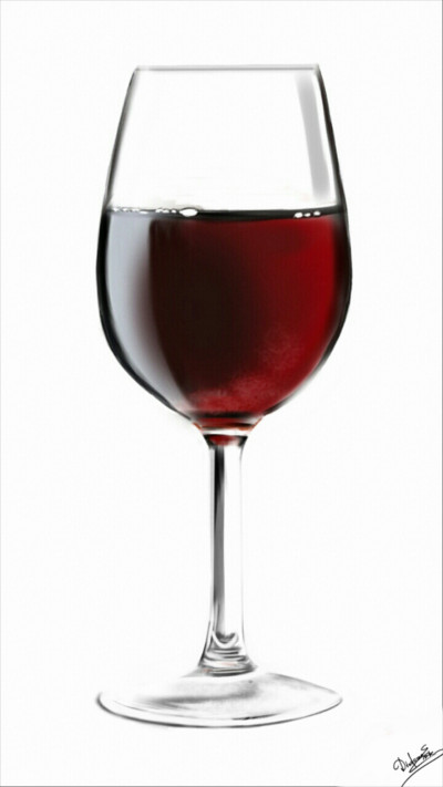 Red wine  | Abex | Digital Drawing | PENUP