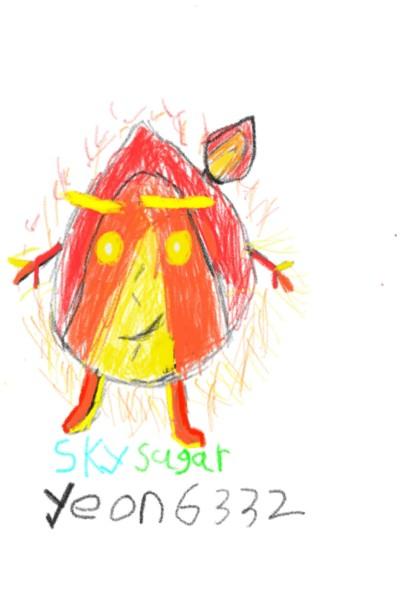 스카이슈가팀 합작 불캐릭터   yeon6332   Digital Drawing   PENUP