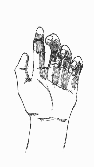 hand | panduaa | Digital Drawing | PENUP
