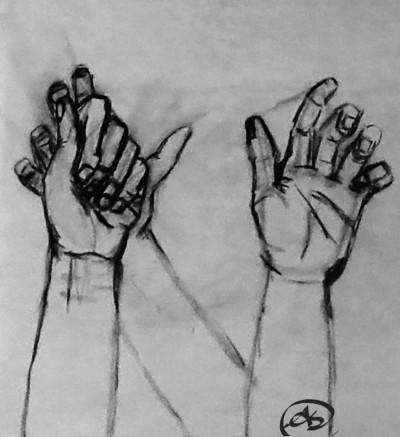 hands | avictorias13 | Digital Drawing | PENUP