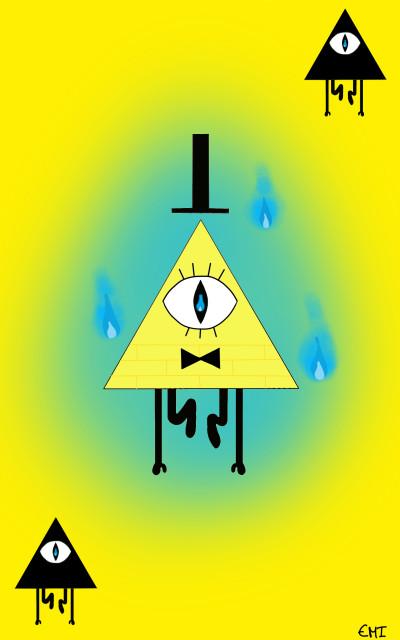 Bill Cipher | _Ginger_ | Digital Drawing | PENUP