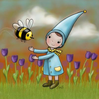 Precious Bee   LisaBme   Digital Drawing   PENUP