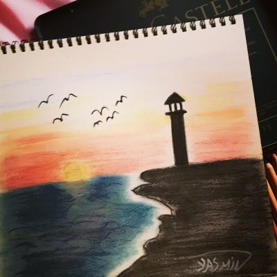 Light house ♡♡ | Jasmine_arts | Digital Drawing | PENUP