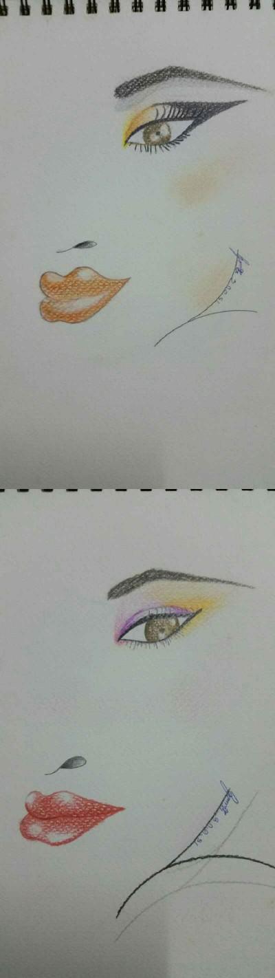 แบบแต่งหน้า | NuKrit | Digital Drawing | PENUP