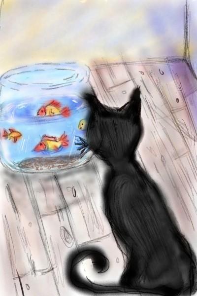 temptations  | kitt | Digital Drawing | PENUP