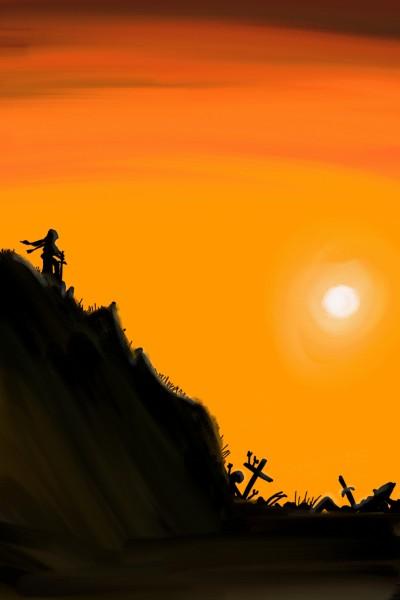 War Sunset | Alex | Digital Drawing | PENUP