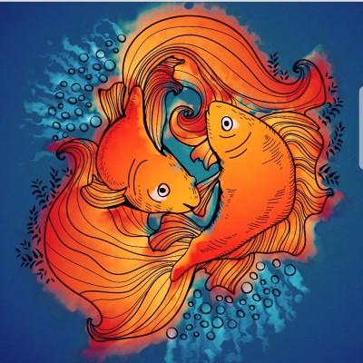 fish | Idea | Digital Drawing | PENUP