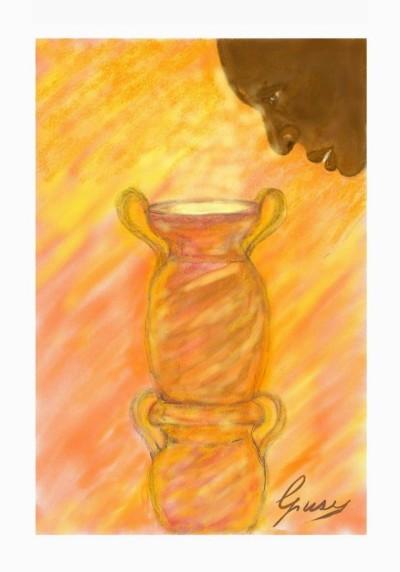 L'emigrazione e il vaso di Pandora    Giusy   Digital Drawing   PENUP