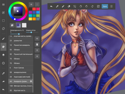 sailor moon wip  | iPalenka | Digital Drawing | PENUP