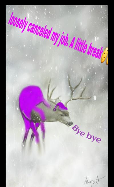 ok...the deer rest   Nigart   Digital Drawing   PENUP