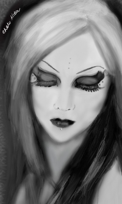Black and White | Choloaldon | Digital Drawing | PENUP