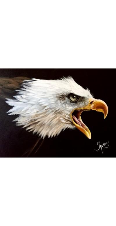 Fish Eagle | Theresa | Digital Drawing | PENUP