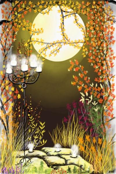 candlelit    nuni   Digital Drawing   PENUP