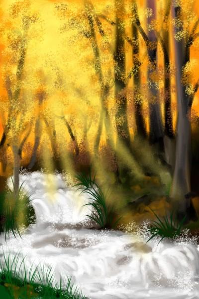 sunrays | Damirijana | Digital Drawing | PENUP