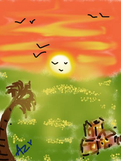 good evening  | AZR | Digital Drawing | PENUP