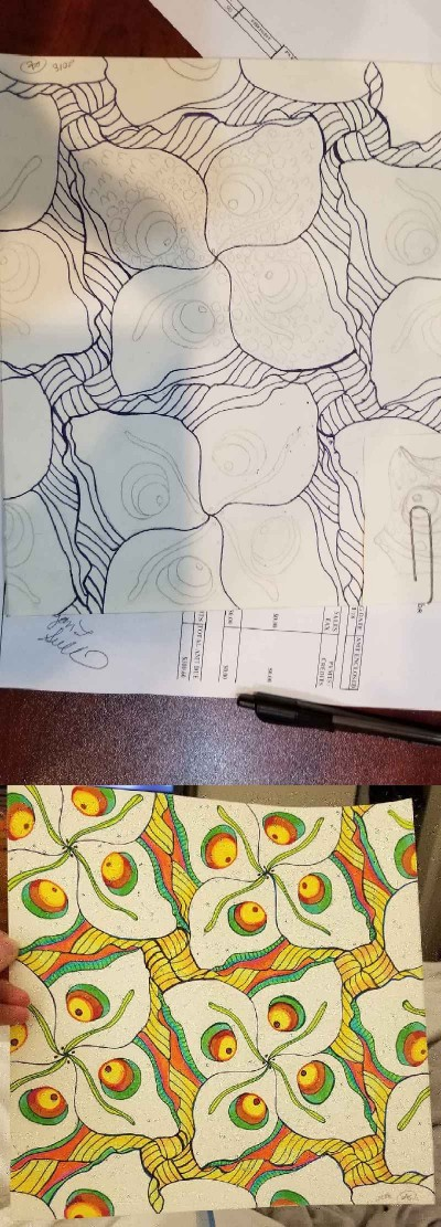 tessellation  | avictorias13 | Digital Drawing | PENUP