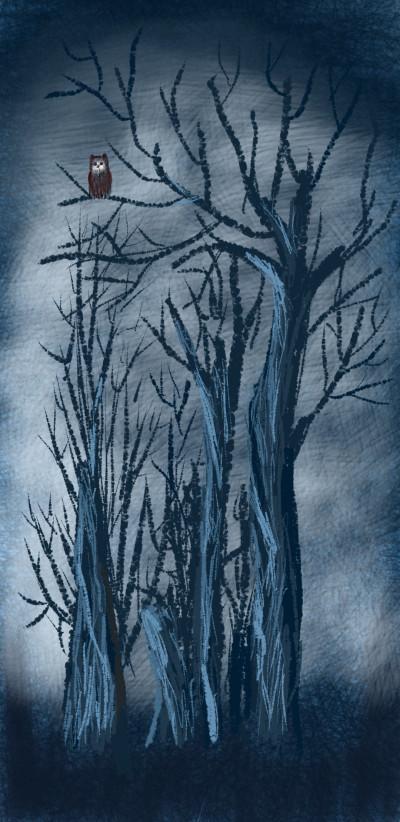 Dark night | Cmingo417 | Digital Drawing | PENUP
