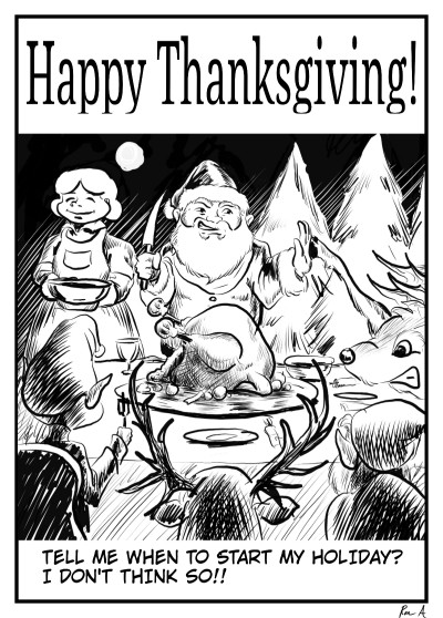 Happy Thanksgiving!  | Grafixguru | Digital Drawing | PENUP