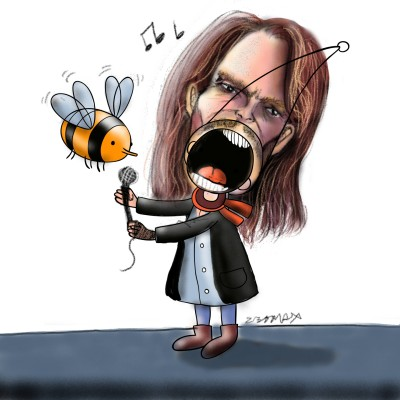 Caricature Steve tyler XD | z3dmax | Digital Drawing | PENUP