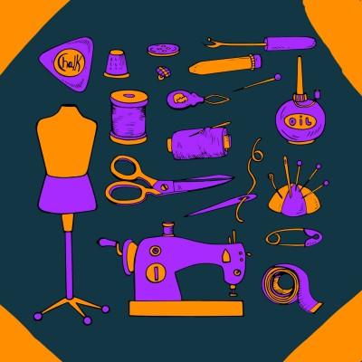 Sew | Tomcat | Digital Drawing | PENUP