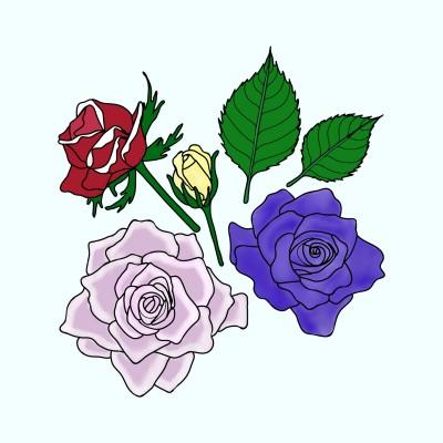 Roses | Trish | Digital Drawing | PENUP