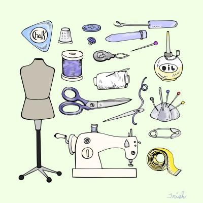 Sewing  Peraphnali    Trish   Digital Drawing   PENUP
