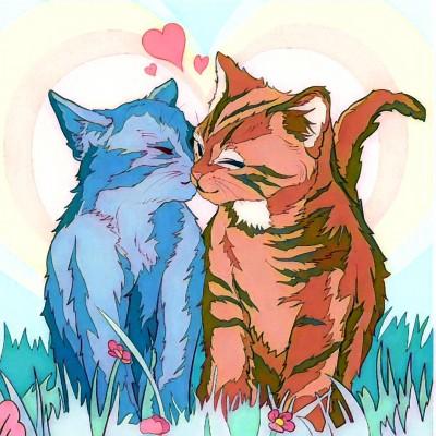 kitty love | Chris | Digital Drawing | PENUP
