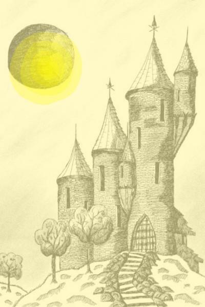 Yellow Castle | Dhannya | Digital Drawing | PENUP