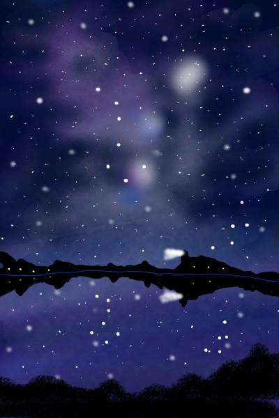 55.북두칠성 Big Dipper | youngsook | Digital Drawing | PENUP